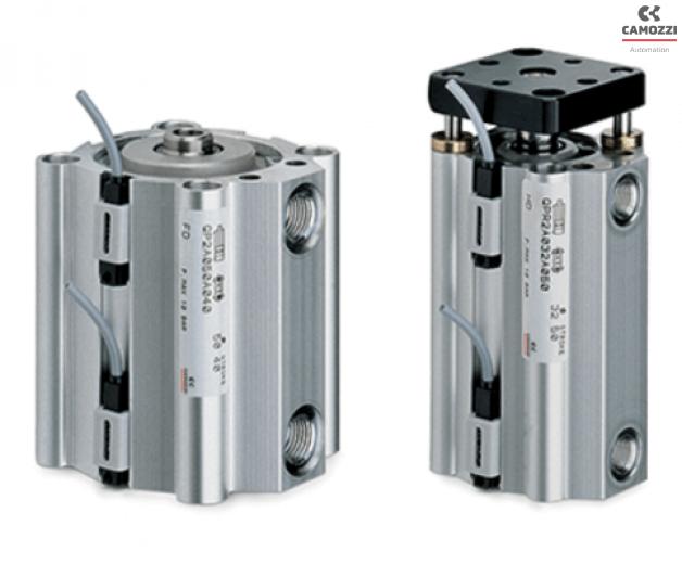 Series QP - QPR short-stroke cylinders